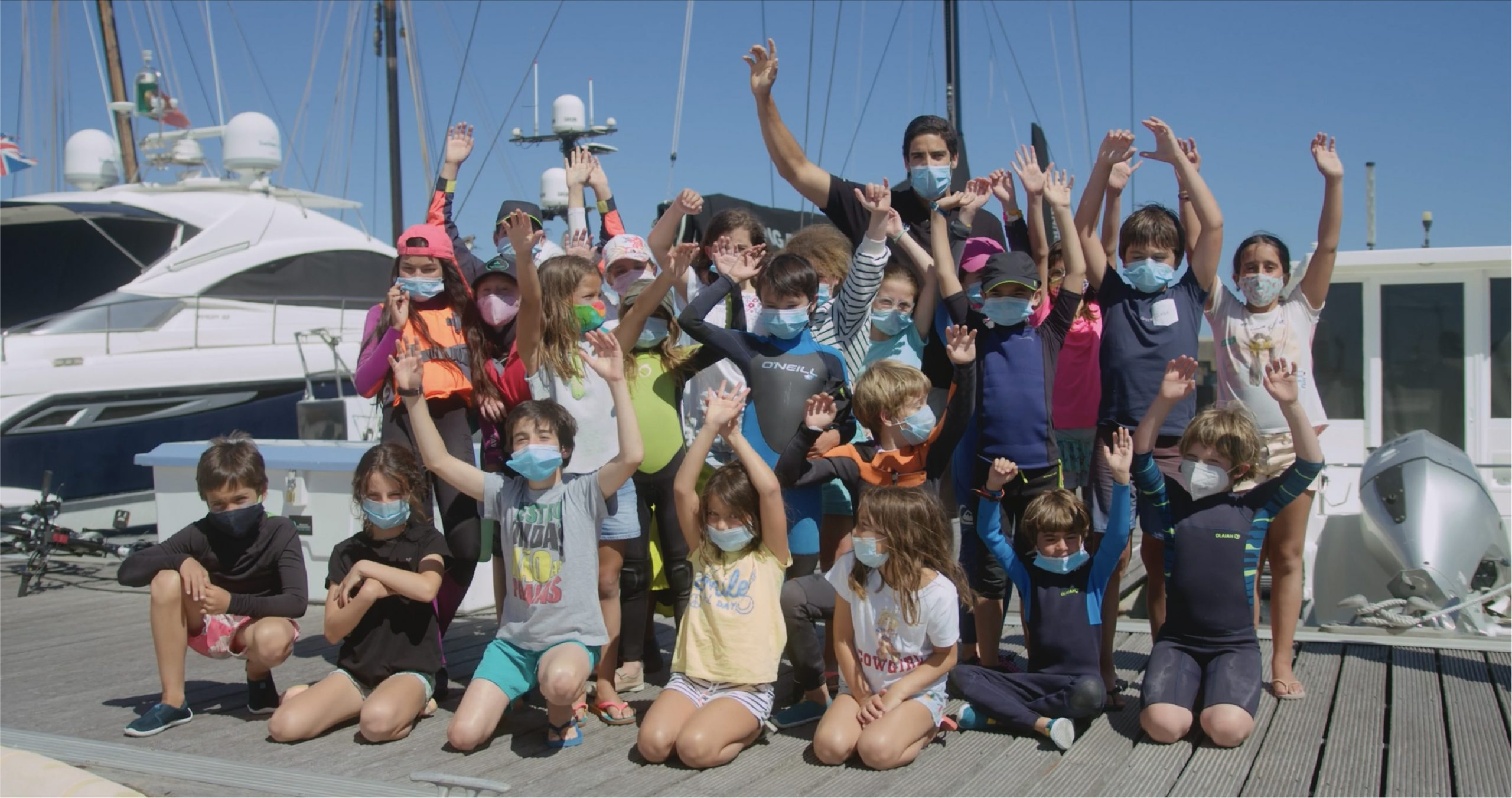 Inspiring young sailors to be the best