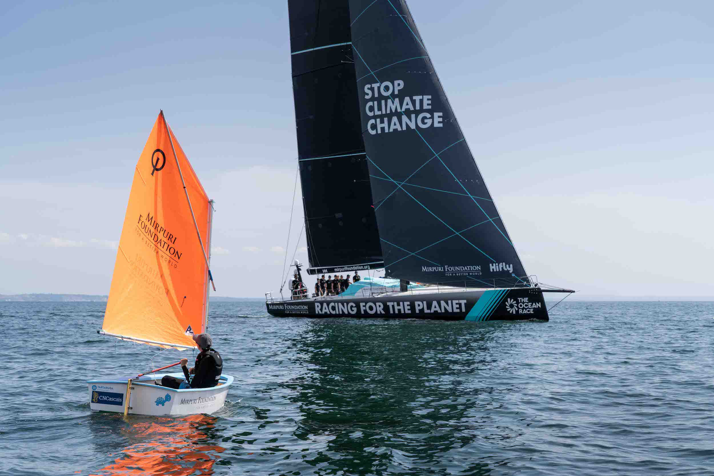 Optimist class introduced for spectacular Sailing Trophy
